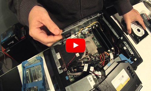 Dell OptiPlex 990 DT Disassembly Process Part 1